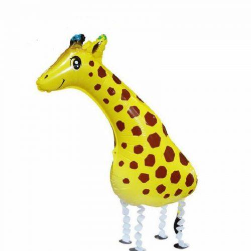 1pc-91-39cm-3D-Walking-Giraffe-Mylar-Ballon-Animals-Balloon-Inflatable-Kids-Toys-for-Zoo-Jungle