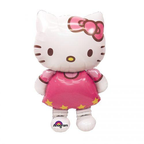 Ballon-en-forme-de-hello-kitty