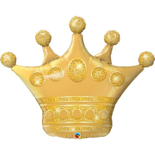 balon-folie-figurina-golden-crown-104-cm-qualatex-49343